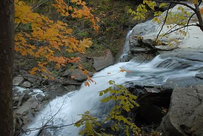 Fall at Brandywine Falls