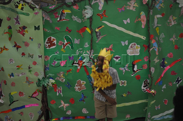 It's A Jungle Out There-2nd gr play