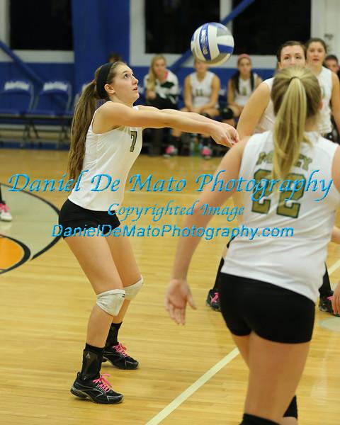 McGann-Mercy Varsity Volleyball at Shelter Island 10-28-13