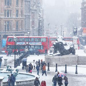 London snow   March 2013