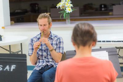Tinwhistle workshop