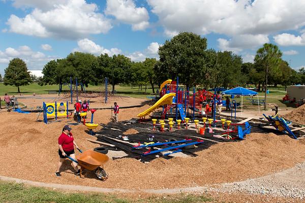 KaBOOM! Playground Build - Memorial Park