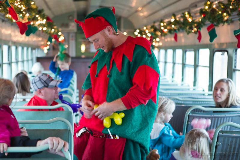 Train Ride to the North Pole