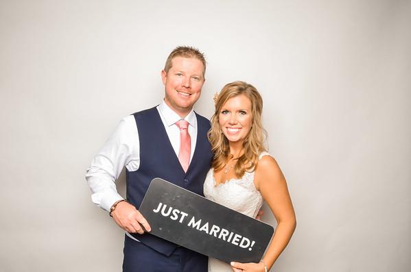 Kati & Adam's Wedding Photo Station