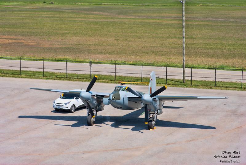 Military Aviation Museum de Havilland Mosquito at the Canadian Warplane Heritage Museum 2015 SkyFest