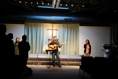 English Sunday Worship 2010