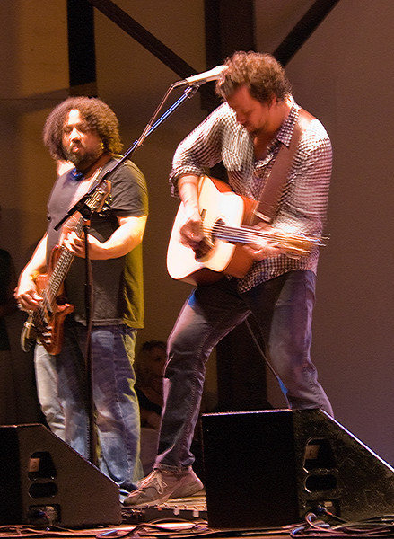 Michael Glabicki and Patrick Norman of Rusted Root