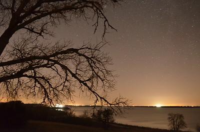 Stargazing at Granger Lake