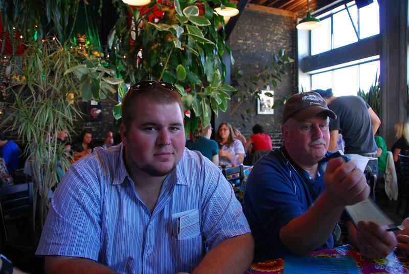 Me and Ted at Cha Cha Cha's.