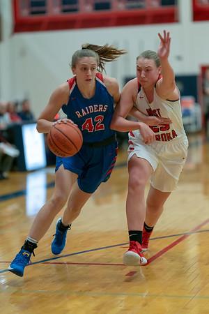 Glenbard South girls basketball vs. West Aurora