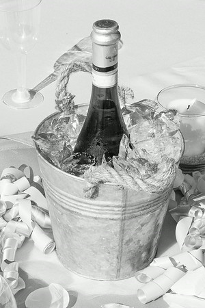The Reception - Dinner & Relaxing - Black & White