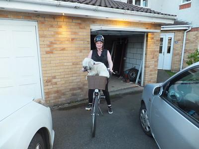 Rio and the bike