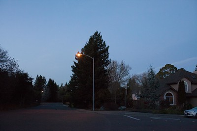 City of Seb street lamps
