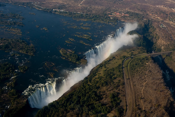 Victoria Falls - Helicopter