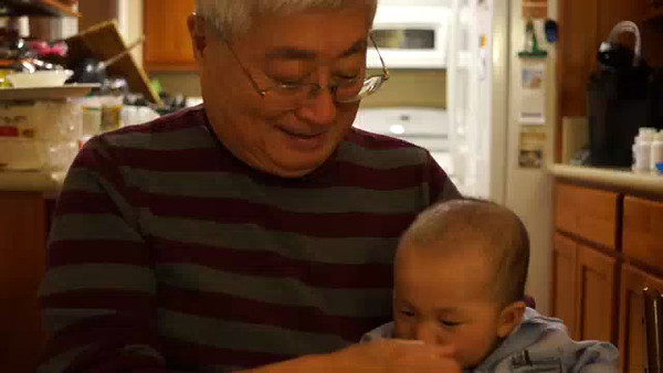 Grandpa and Andrew