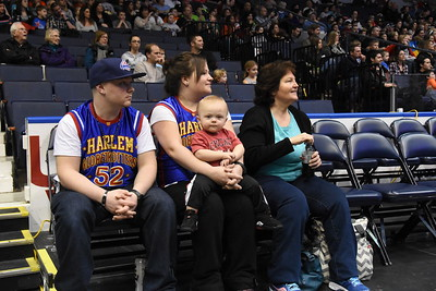 Globetrotters at Blue Cross Arena - 1/31/2016
