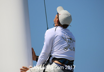 Prestart Pictures for the 3rd and 4th Transpac Starts for 2017