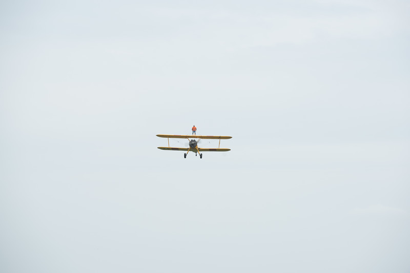 Martine Powell's Wingwalk  @ Chiltern Park Aerodrome.  09.06.2018 by Sophie Ward Photography