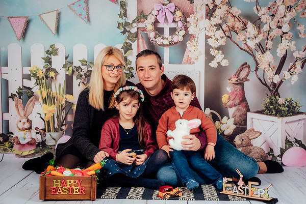 Sedinta Foto de Paste / Primavara - Familia Constantinescu