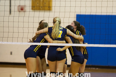 Freshman Volleyball: Loudoun County at Stone Bridge Volleyball (9-30-2013 by Jeff Scudder)