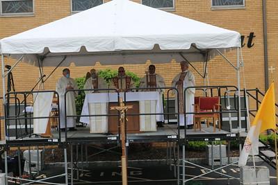 Mass Outdoors and Prayer Opportunities