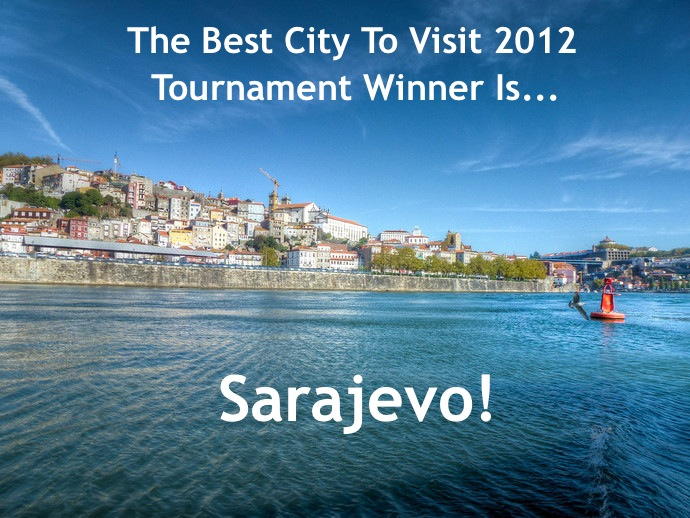 best city to visit 2012 winner