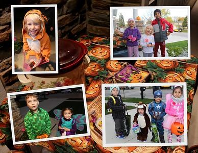 Halloween 2016 on Amherst Road