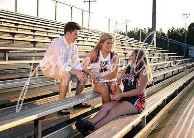 Ainsley, Mandy, & Sully ~ KHS Football