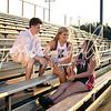 Ainsley, Mandy, & Sully ~ KHS Football :