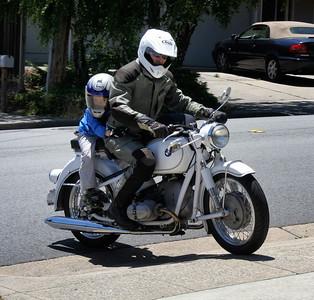 Allistair rides
