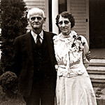 Raleigh and Iola Gray, Martinez, California, on Easter Sunday 1943.