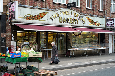 Bakery on North End Road, London, United Kingdom
