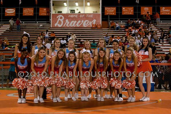 University @ Boone JV Cheer - 2010
