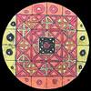 Mandala<br /> by Texas Athanas, 5th Grade<br /> St. Gabriel School<br /> Oil pastel, sharpie, and India ink batik