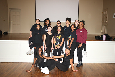 Step Team 2019-20 - Photos by Risley Sports Photography