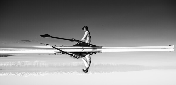 Rowing on the Great Salt Lake 2021
