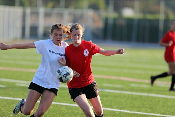 Beckman Girls Soccer Blue Team 07.31.17
