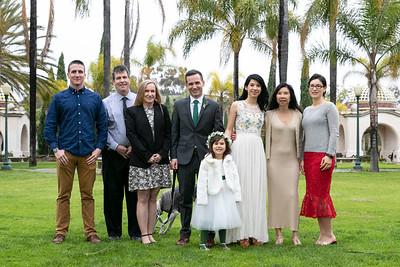 April + Corey Wedding at Balboa Park