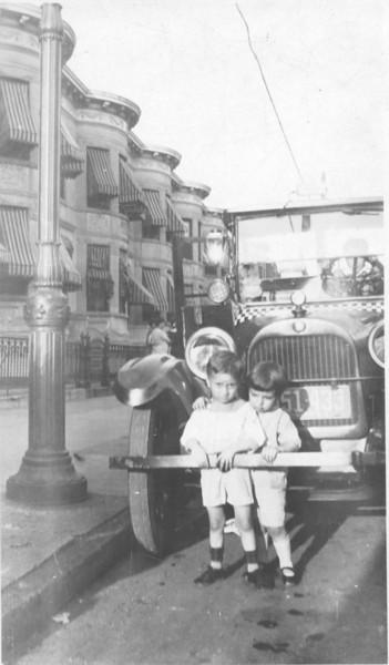 Louis Sanfilippo with cousin 1929