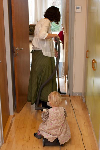 Asta og Petra 2009