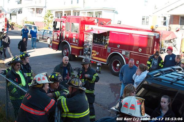 Structure Fire, Hazleton, 574 Cleveland, 10/17/08