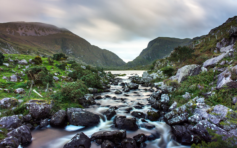 Gap of Dunloe and Black Lake