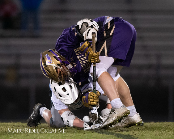 Broughton varsity lacrosse vs Panther Creek. March 4, 2019. D4S_3721