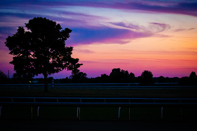 Keeneland At Sunset