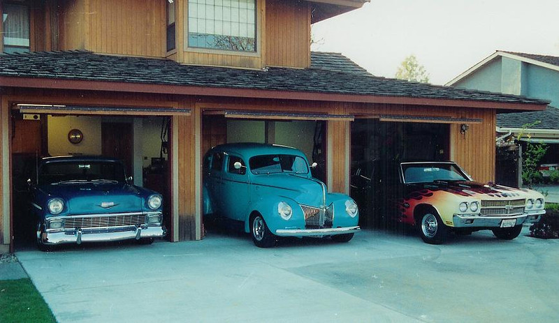 1956 Nomad, 1940 Ford, 1970 Chevelle SS
