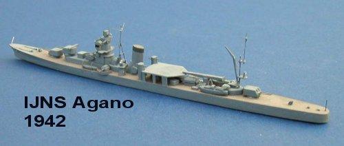 Japan WW2 Cruisers