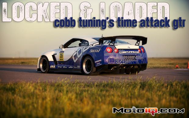 Brian Lock's Cobb Tunning GOTO racing Nissan R35 GTR