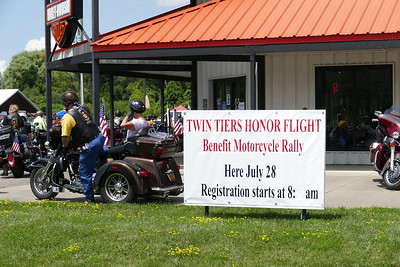 Ride for the Memories, Twin Tier Honor Flight July 28, 2018