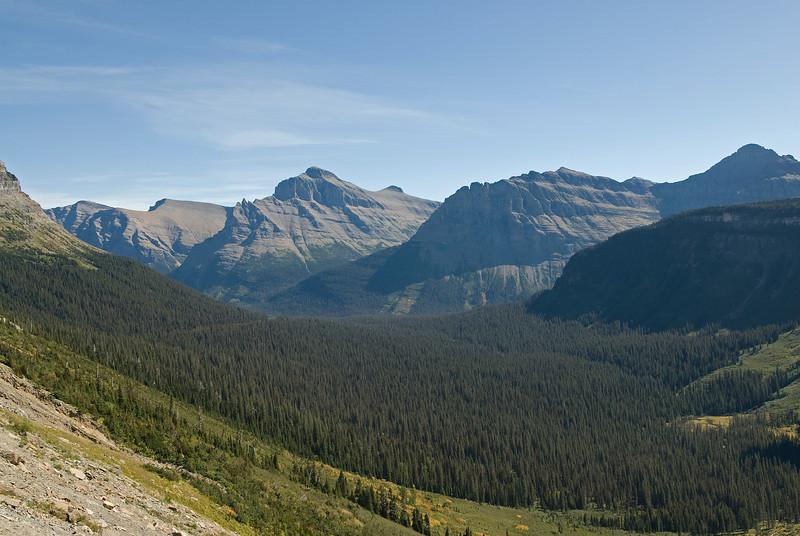 Northern Rocky Mountains in Glacier National Park, Montana