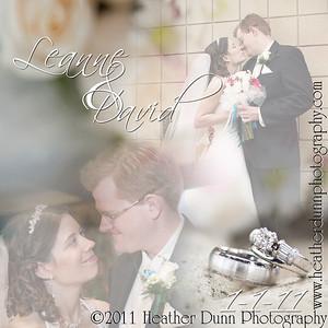 Leanne and David's Wedding Album